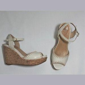 Nurture Cork Wedge Shoes